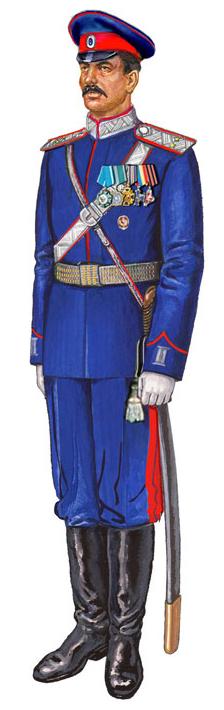 Форма одежды казаков Центрального казачьего войска