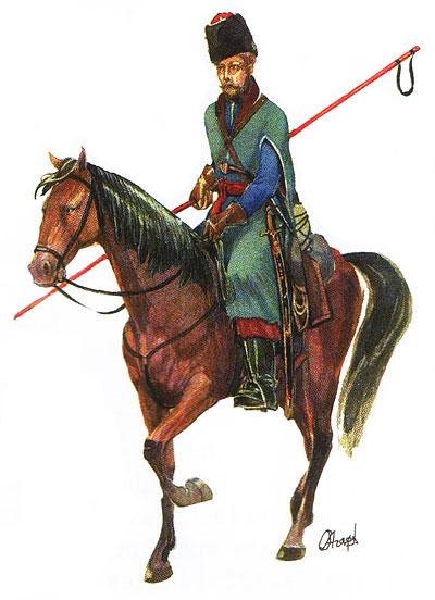 Эволюция казачей военной формы XIX века