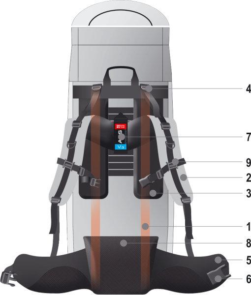 Подвесная система ABS V.3