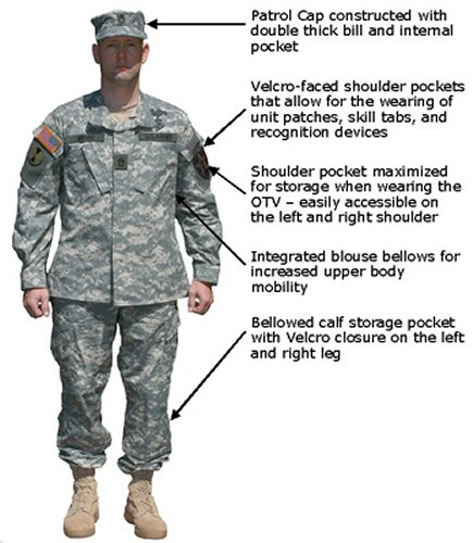 ACU (или Army Combat Uniform)