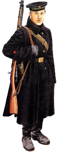 Униформа ВМФ РККА во Второй мировой
