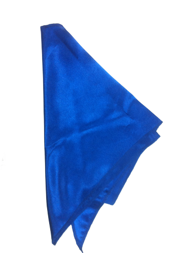 Косынка к платью Юстиции голубая
