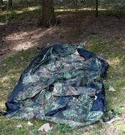 Разложить внешний тент Лёгкая двухместная палатка. Tengu Mark 31T