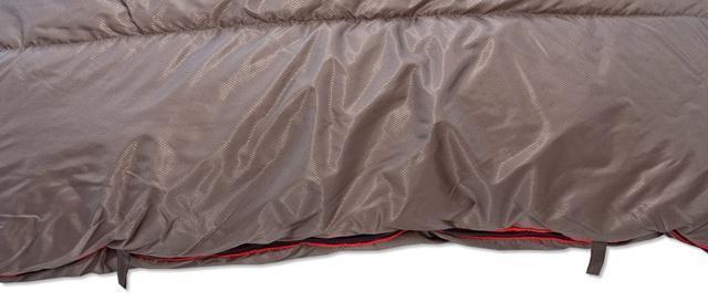 Петли для проветривания. Спальник-одеяло шириной 1 метр для кемпинга и туризма Alexika Siberia Wide