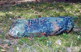 Вид в чехле Лёгкая двухместная палатка. Tengu Mark 31T