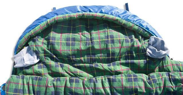 На подголовнике два отверстия для подушки. Просто втяните куртку, или свитер в отделение и получится подушка, которая не съезжает. Самый популярный трехсезонный спальник-одеяло для комфортного сна даже в заморозки Alexika Tundra Plus