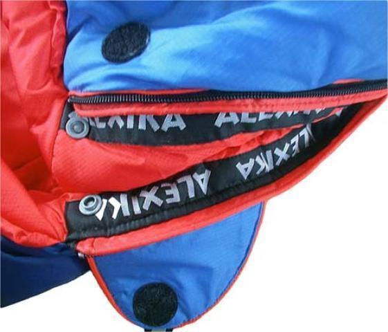 Комбинированная лента от закусывания ткани замком молнии Штурмовой спальник для летних восхождений Alexika Tibet Compact