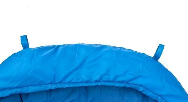 Верхние петли для просушки. Позволяют подвесить спальник для просушки после стирки, или проветривания в походе. Кемпинговый спальник-одеяло Alexika Comet