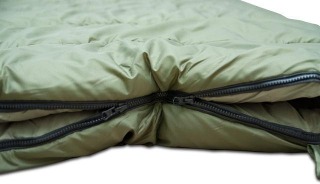 Если становится жарко, можно расстегнуть молнию в ногах. Уникальный низкотемпературный спальник-одеяло с большим объемом утеплителя Tengu Mark 73SB