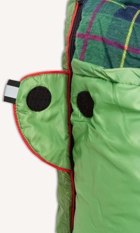 Круглая липучка Velcro (квадратные - отрываются по углам) и светоотражающий ярлык. Спальник-одеяло c подголовником для кемпинга и туризма Alexika Siberia Plus