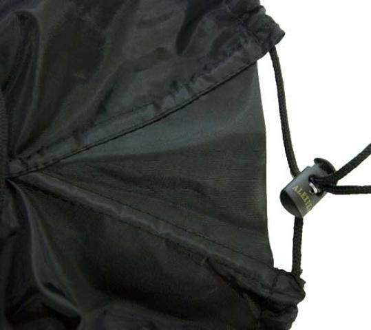 Расширительная вставка на чехле позволит легче упаковывать спальный мешок. Спальник-одеяло для кемпинга и туризма Alexika Siberia