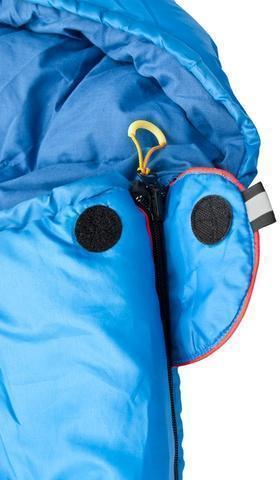 Клапан для фиксации молнии с круглой липучкой и светоотражающим ярлыком Кемпинговый спальник-одеяло Alexika Comet