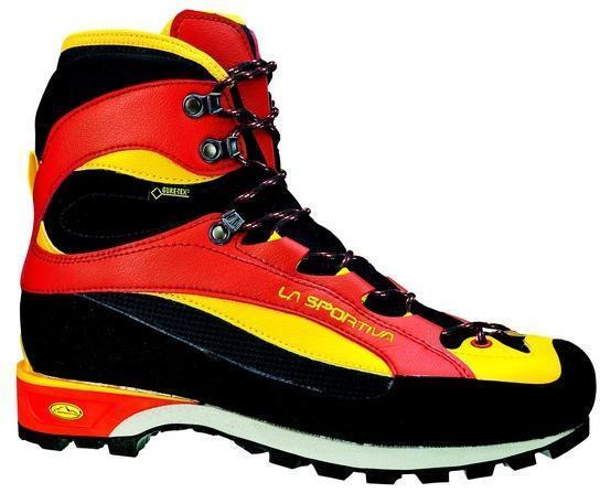 Легкие горные ботинки La Sportiva Trango Guide EVO GTX Red/Yellow