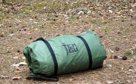 Вид в чехле Палатка туристическая с большим тамбуром. Tengu Mark 11T