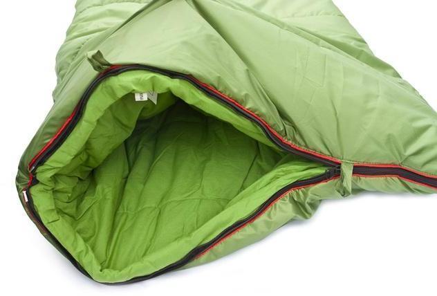 Два бегунка на молнии для вентиляционного окна. Спальник-одеяло для кемпинга и туризма Alexika Siberia