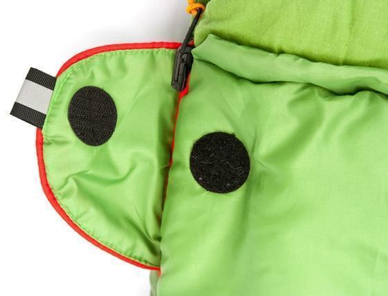 Клапан для фиксации молнии с круглой липучкой и светоотражающим ярлыком Спальник-одеяло для кемпинга и туризма Alexika Siberia