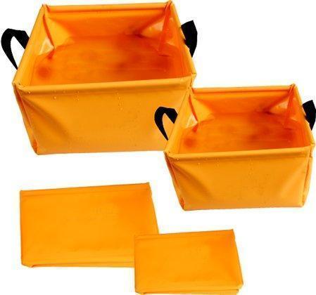 Таз складной, виниловый 10 л AceCamp Laminated Folding Basin 10L 1703