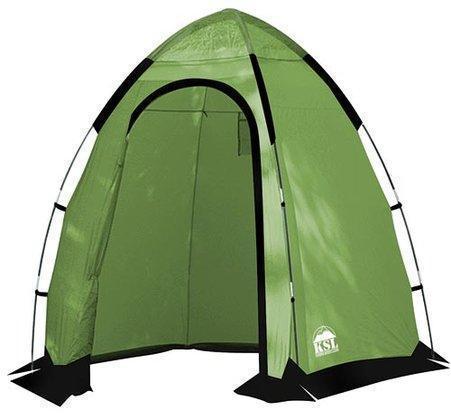 Палатка под туалет или душ с повышенным комфортом KSL Sanitary Zone Plus зеленый