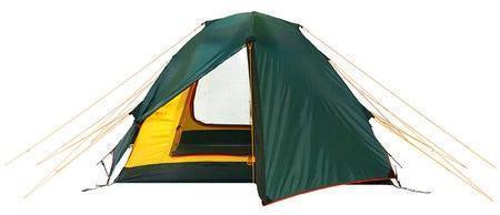 Универсальная двухместная туристическая палатка с двумя входами и двумя тамбурами Alexika Rondo 2 зеленый, Палатки 3-местные - арт. 314680321