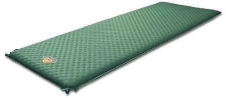 Комфортный туристический коврик для выездов на природу Alexika Alpine Plus 80 9355.7591 Pine Green