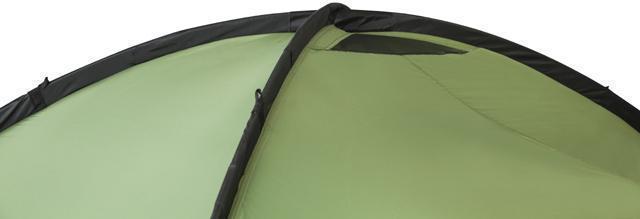 Вентиляционные отверстия в куполе. Палатка с двумя спальнями (3+3) и большим тамбуром посередине KSL Macon 6