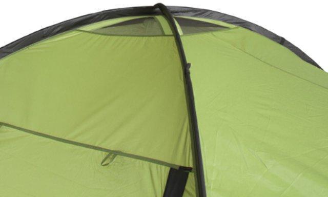 Защитный клапан снят. Четырехместная кемпинговая палатка с двумя спальнями и большим тамбуром KSL Macon 4