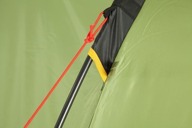 Цветная маркировка рукава. Трехместная кемпинговая палатка купольного типа KSL Rover 3