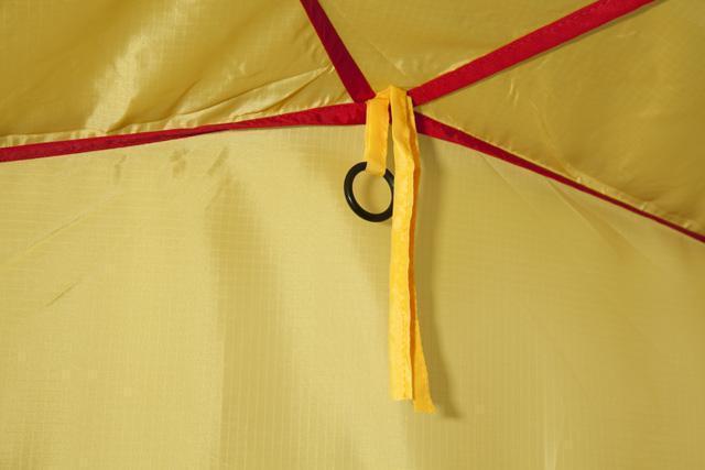 Кольцо для фонаря под куполом. Трехместная кемпинговая палатка купольного типа KSL Rover 3