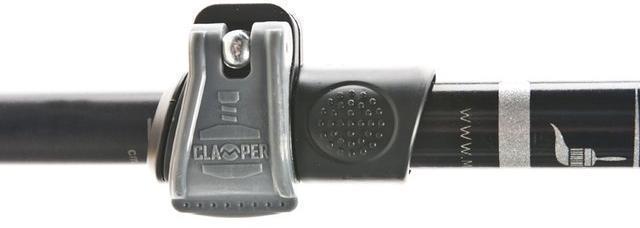Система блокировки Clamper Телескопическая прогулочная палка Masters Promenade