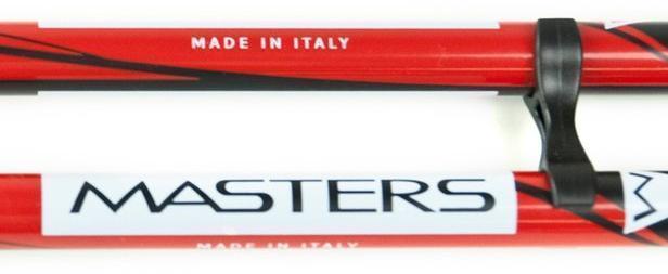 Сделано в Италии. MASTERS - производство палок для скандинавской ходьбы с 1977 года. Телескопические палки для скандинавской ходьбы Masters Telescopic