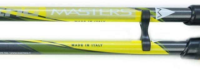 Сделано в Италии. MASTERS - производство палок для скандинавской ходьбы с 1977 года Телескопические палки для скандинавской ходьбы Masters Training Speed