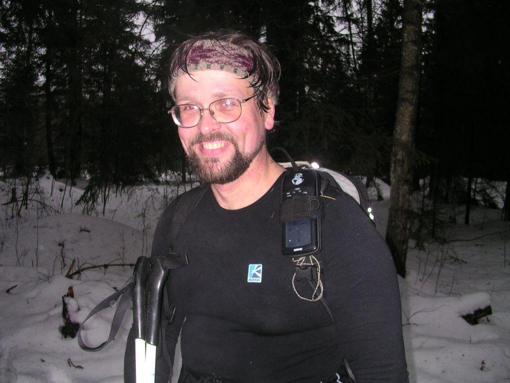 Power Stretch in the Winter Woods или Хорошая прогулка по зимнему лесу. Футболка Баск GREENWICH - J