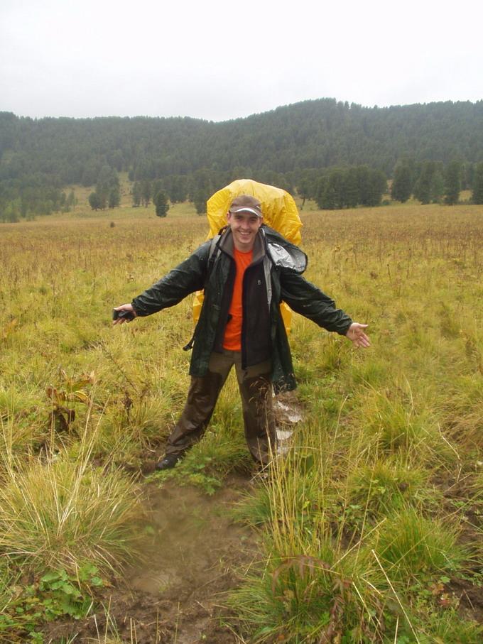 Алтай. Август 2006 Куртка Баск GUDZON