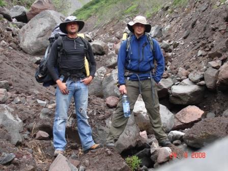 Подножье Вилючинского вулкана 24.08.08 Куртка Баск PANZER V3