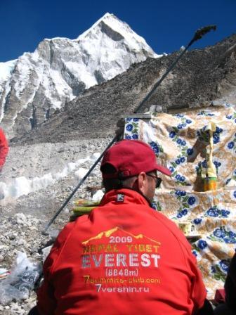 открытие базового лагеря. Экспедиция Клуба 7 Вершин на Эверест. Куртка Баск PANZER V3