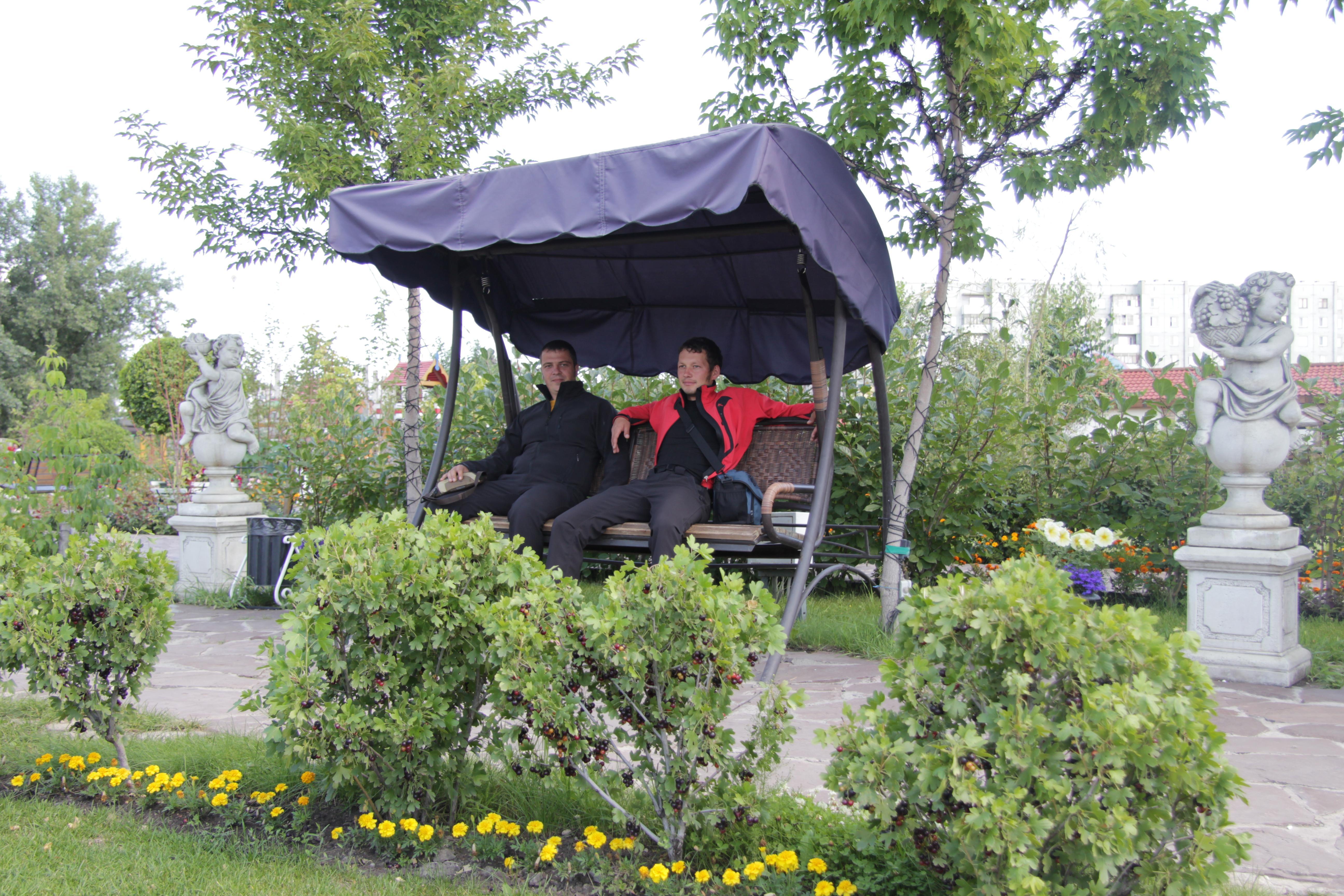 г. Абакан парк по моему назывался Сад мечты Куртка Баск PANZER V3