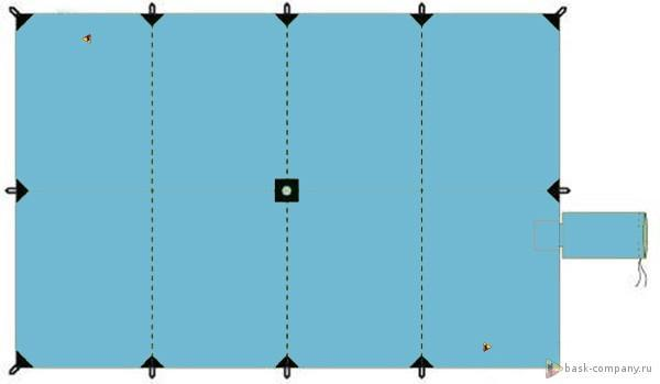 Тент Баск CANOPY V3 3*4.5