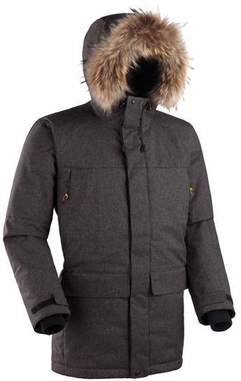 Мужская куртка-парка Баск ARADAN черный