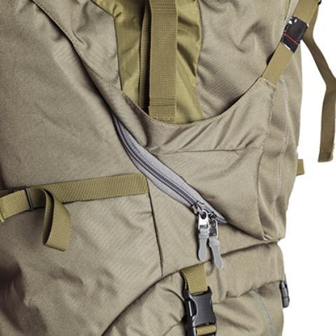 3D-доступ в основное отделение - Объемный и надежный туристический рюкзак Tamas 120 navy