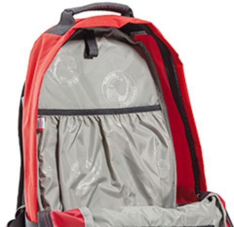 В спинке рюкзака - карман для документов или ноутбука - Универсальный рюкзак широкого применения Husky Bag cub