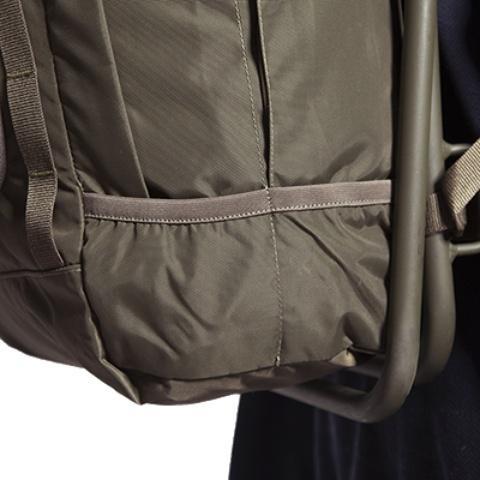 Боковые парные карманы на резинке - Прочный стул-рюкзак Petri Chair