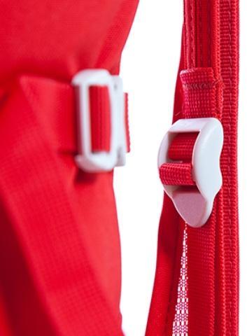 Возможность мгновенной регулировки натяжения спины - Спортивный рюкзак с подвеской X Vent Zero Vento 25 lemon