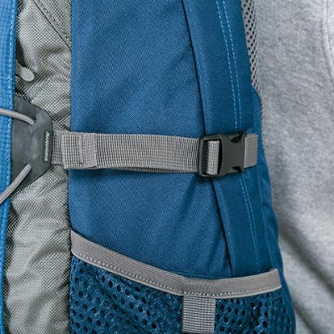 Боковые утягивающие стропы - Оригинальный городской рюкзак Flying Fox ocean