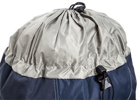 Верхний утягивающися вход в основное отделение - Универсальный трекинговый туристический рюкзак Yukon 60