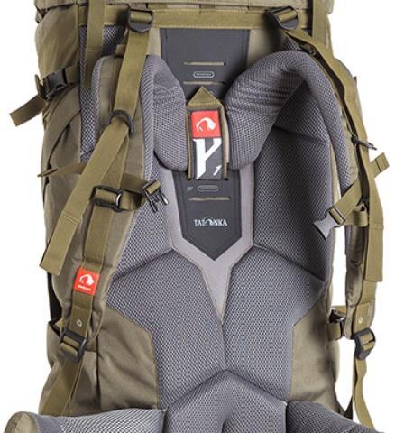 Система переноски Y1 - Объемный и надежный туристический рюкзак Tamas 100 navy