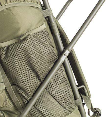 Прочная алюминиевая рама - Складной рыбацкий рюкзак-стул Fisherstuhl cub