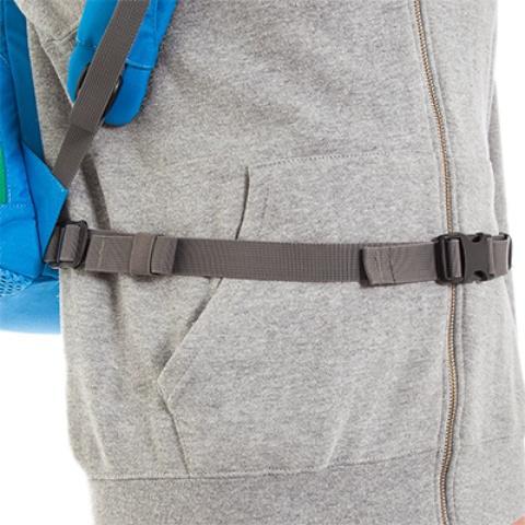 Съемный поясной ремень - Городской рюкзак с множеством карманов Kangaroo bright blue