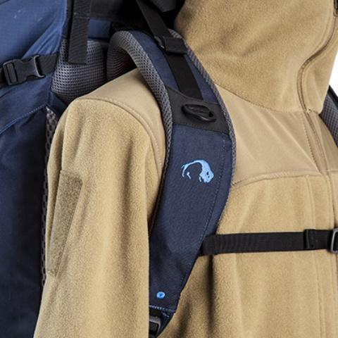 Широкие удобные лямки анатомической формы - Универсальный трекинговый туристический рюкзак Yukon 60