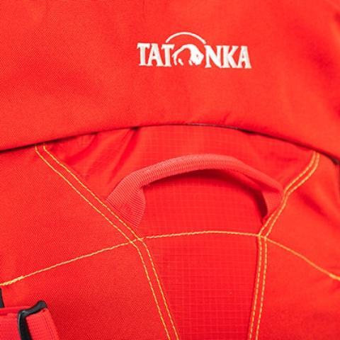 Прочная ручка на лицевой части рюкзака - Женский трекинговый туристический рюкзак Isis 60 red