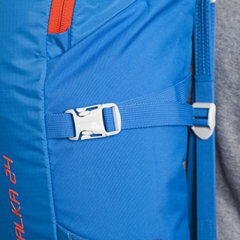 Боковые утягивающие стропы - Походный рюкзак с верхней загрузкой Yalka 24